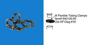 Filstar Flexible Tubing Clamps 4pk