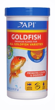 API Goldfish Fish Flake Food 2.0 oz canister
