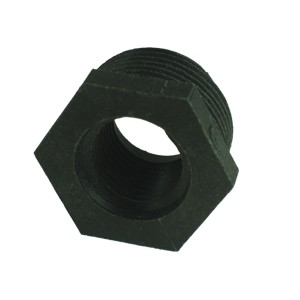 "1-1/2"" M x 1' F threaded converter"