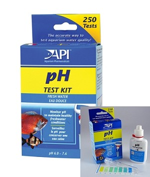 Freshwater Mini PH Test Kit (250 tests) essential test for all