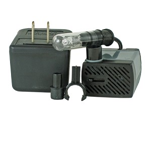 Rena OEM Low-Voltage Pump/Light,66gph/10watt light w/transformer, 3yr warranty