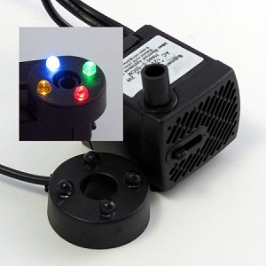 Low Voltage Mini-Pump & LED Light Kit