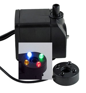 Low-Voltage Pump & LED Light Kit